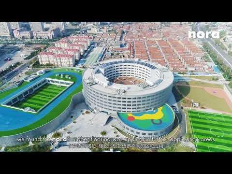 Qingdao Academy, Main Campus & Laoshan Campus | Qingdao City, China | nora® flooring