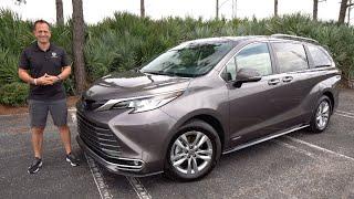 Is the 2021 Toyota Sienna Limited a BETTER minivan than a Kia Carnival SX?