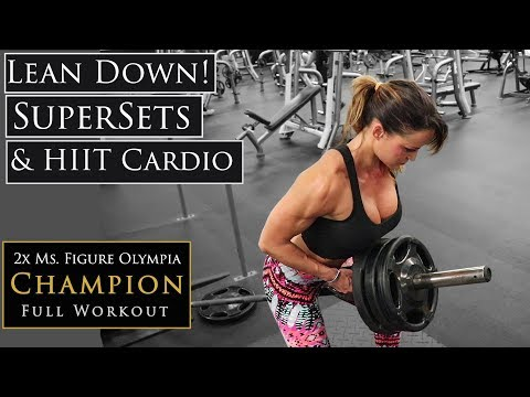 Push/Pull Workout & HIIT Cardio (w/Commentary) | Training Explained