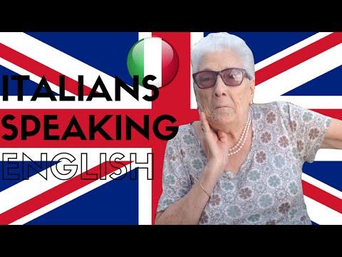 Italians Speaking English || GINEVRA IORIO