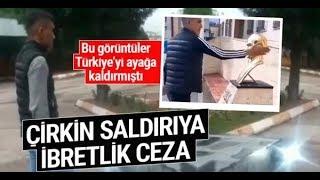 Atatürke hakaret eden şahsa Polisten ibretlik ceza Asker selamı verdirdi !