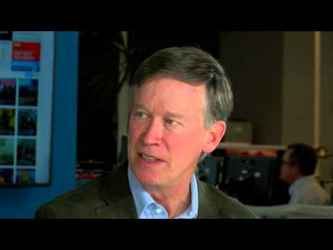 Interview with Gov. John Hickenlooper after re-election ...