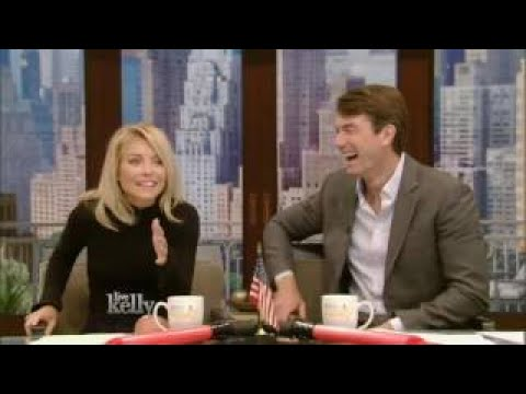 Live With Kelly 10/03/2016 co-host Jerry O'Connell Kenan Thompson,comic Chris Gethard