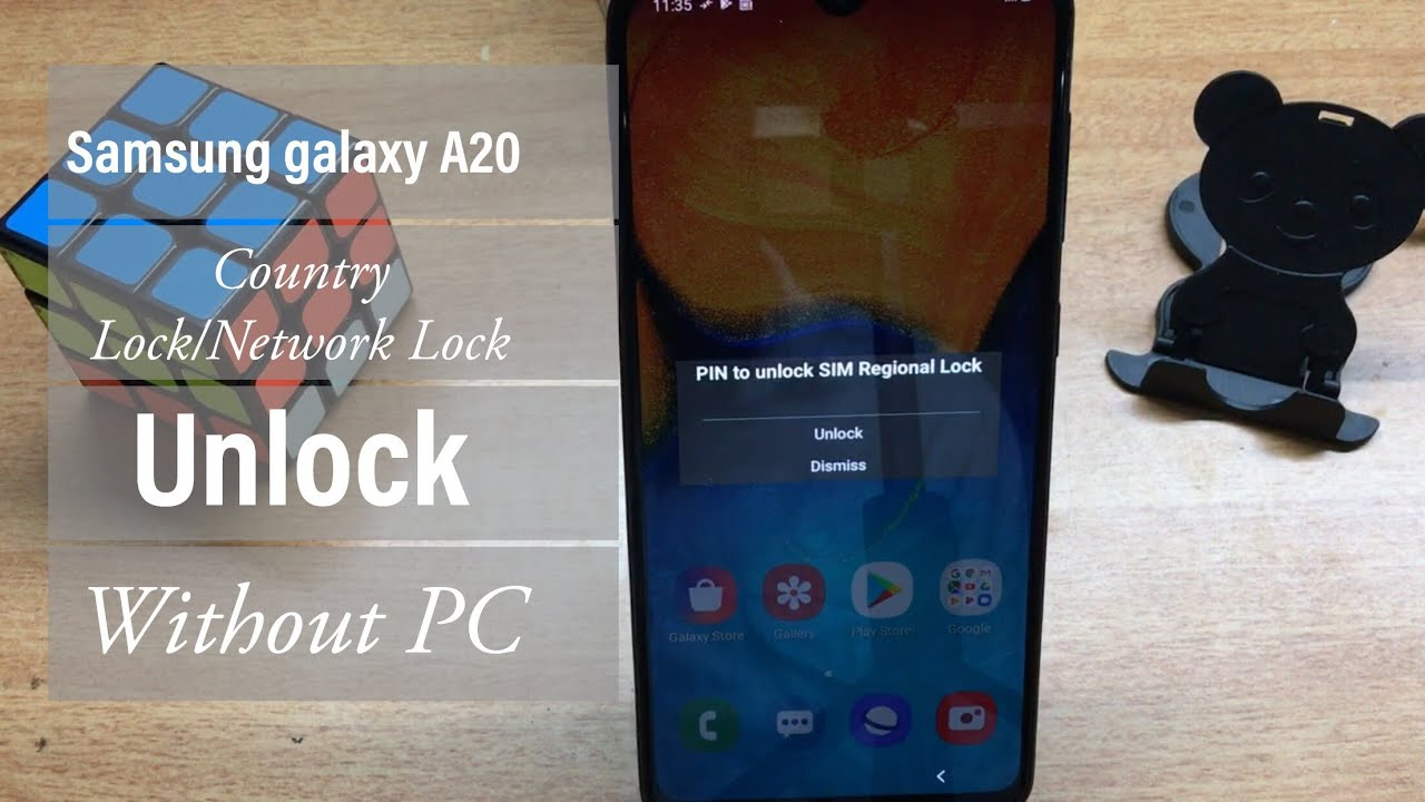 Samsung galaxy A20 (SM-A205F) Country Lock/Network Lock Unlock without tool  | GSMAN ASHIQUE I