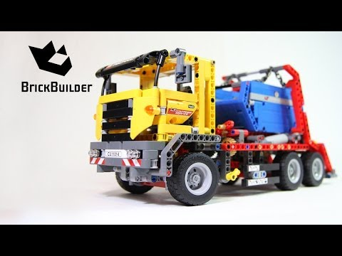 LEGO TECHNIC 42024 Container Truck - Speed Build for Collecrors - Technic Collection (5/11)