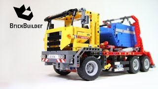 Lego Technic 42024 Container Truck - Lego Speed build