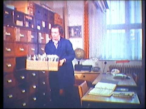 """Zeitung """"Neuer Tag"""" Frankfurt (Oder) 1979 Super8-Film Teil 1"""