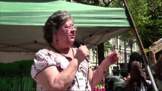 Global Cannabis March 2013: Anna Diaz - We Can Do This Now!