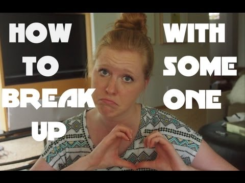 breaking up with someone you arent dating
