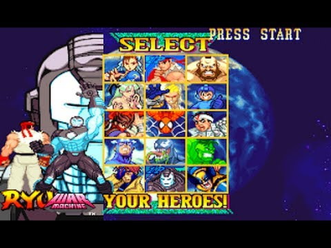 Marvel vs Capcom  Select your Heroes theme music