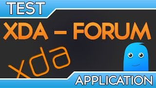 XDA Forum: Test application Android n°40
