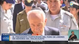 Alberto Fernández viaja a Israel en su primer visita al exterior como Presidente