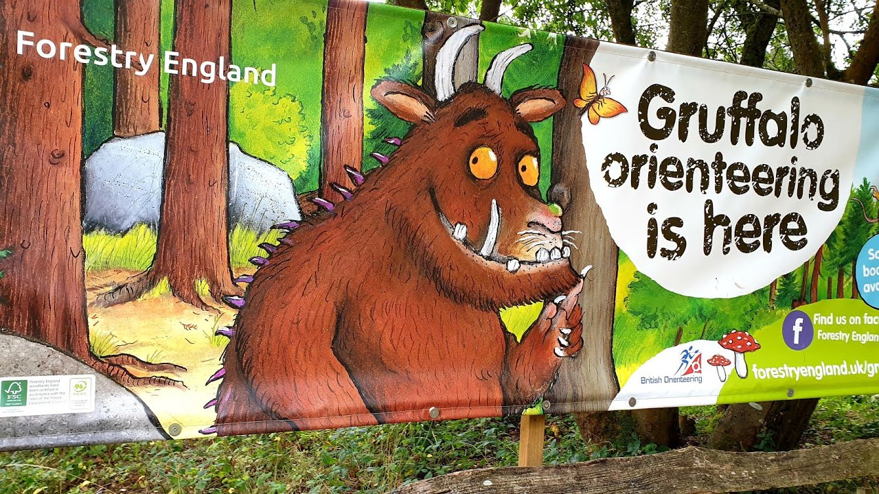 It was a dry but overcast day so the forest looked a little gloomy, hopefully would be nicer in late spring or summer. Gruffalo Trail Gruffalo Orienteering Alice Holt Country Park Tour Activities After Lockdown 2020 Youtube