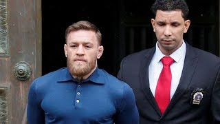 Conor McGregor in HANDCUFFS After ARREST for Assault in NYC