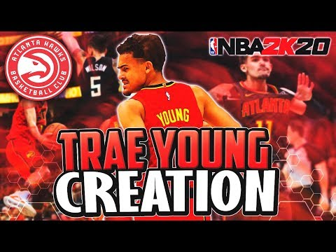 THE OFFICIAL TRAE YOUNG  FACE CREATION! NBA 2K20 | CREATION 35