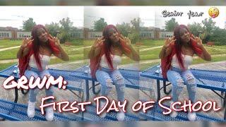 GRWM: FIRST DAY OF SCHOOL SENIOR YEAR!!! 2019 | Ziy Ziy