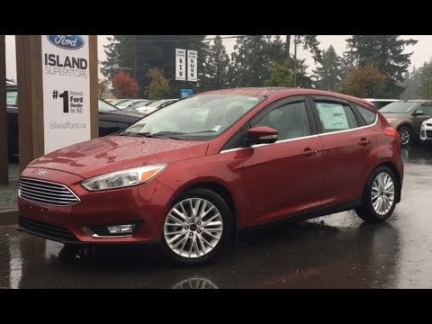 2017 Ford Focus Titanium Technology Flex Fuel W/ Nav Review|Island Ford