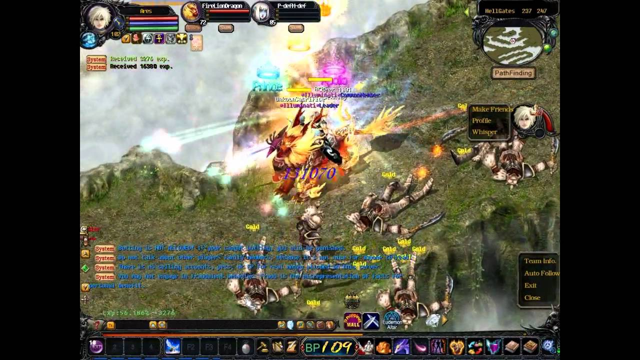 Elemental Gaming RPG Online MMO Private Server