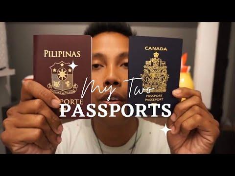 Philippine Passport Vs Canadian Passport   My Two Passports
