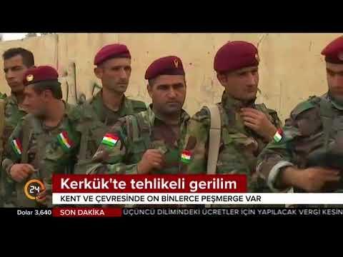Kerkük diken üstünde! Irak ordusu ve Haşdi Şabi bölgeye sevkiyat yaptı