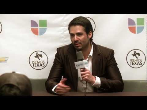 José Ron - Entrevista - Premios Texas 2012 - Interview