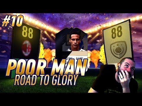 ELITE 1 REWARDS!!! HUGE OTW WALKOUT!!! ICON FERDINAND!!! - Poor Man RTG #10 - FIFA 18 Ultimate Team