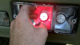 how to  LED bulbs.mini truck Daihatsu Hijet s83p ダイハツ ハイゼットトラック