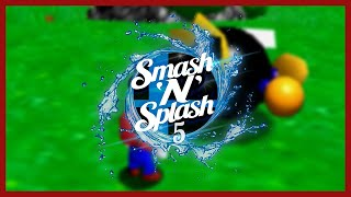 CLG cheese | Super Mario 64 70 Star Randomizer Speedrun | Smash'N'Splash 5
