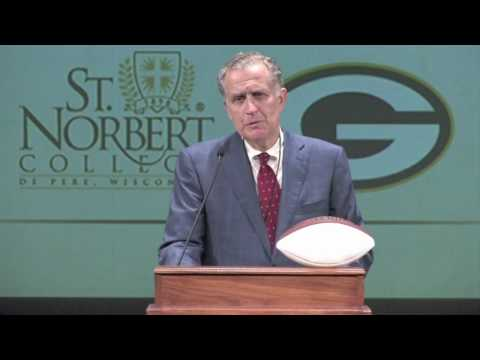 Sport and Society Conference speaker Paul Tagliabue at St. Norbert College