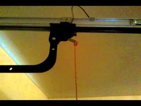 open garage door manuallyHow to open a garage door in a power outage  YouTube
