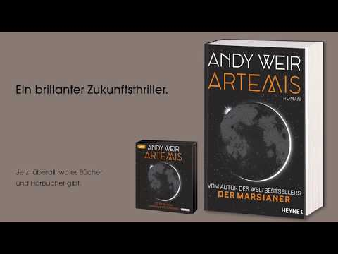 Artemis YouTube Hörbuch Trailer auf Deutsch