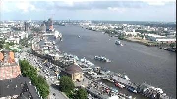 Webcam live aus dem Hafen Hamburg.
