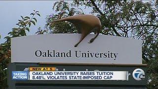 OU raising tuition 8.48%