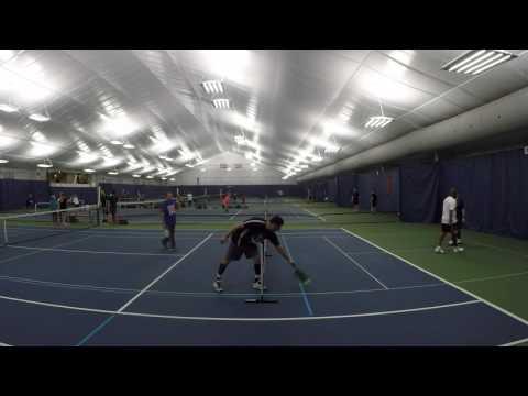 Pickleball Social at Milford Indoor Tennis, Milford CT 1/14/2017
