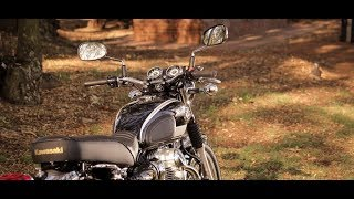 Kawasaki  w800 exhaust sound compilation