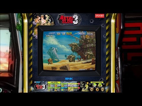 Metal Slug 3 - Realistic Arcade Overlay Collection For Retroarch