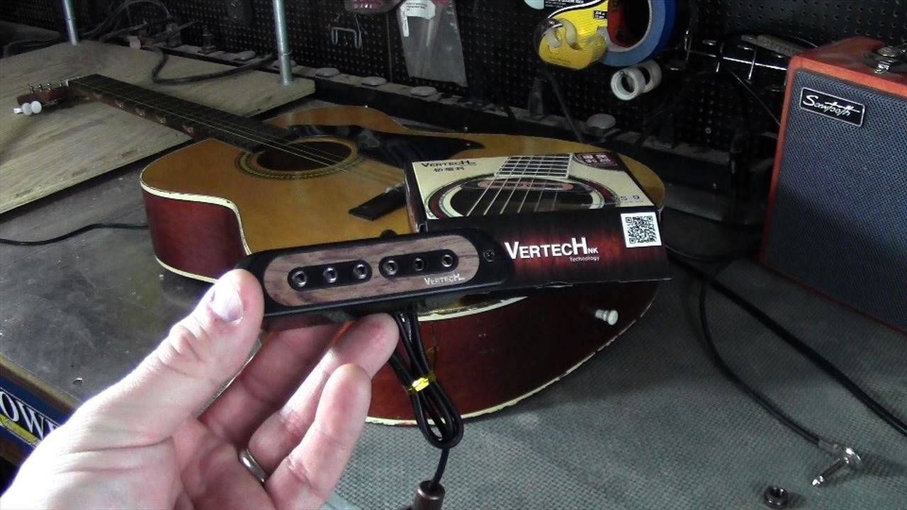 Installing A Guitar Soundhole Pickup Youtube Dean Wiring Diagram