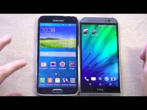Samsung Galaxy S5 vs HTC One M8. Сравнение флагманов