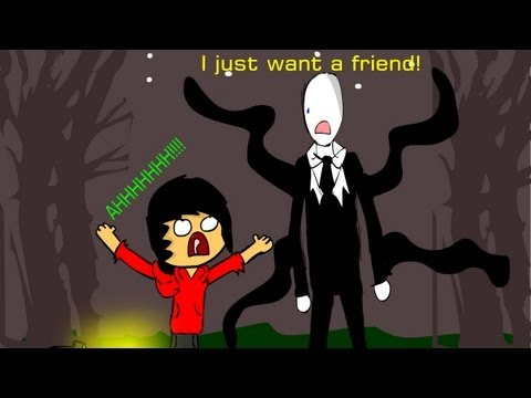 Slender Man Is So Lonely