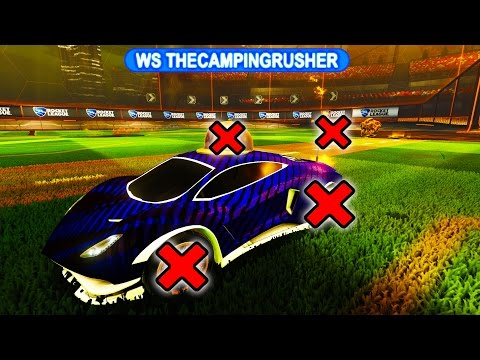 MOST EXPENSIVE CAR W/ NO ALPHA ITEMS IN ROCKET LEAGUE!!