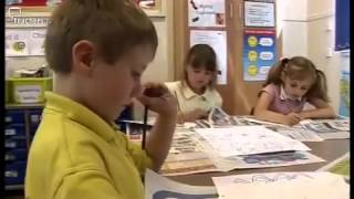 Teachers TV: KS1 Art - Peacock Masks