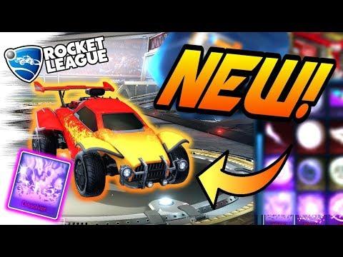 Rocket League NEW MYSTERY DECAL: Dissolver (Triumph Crate Black Market Update)