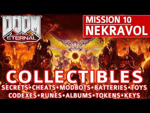 Doom Eternal - Nekravol All Collectible Locations (Secrets, Collectibles, Cheats, Upgrades)