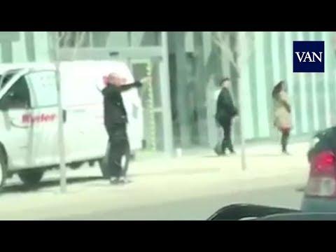 Un agente detiene al principal sospechoso del atropello en Toronto