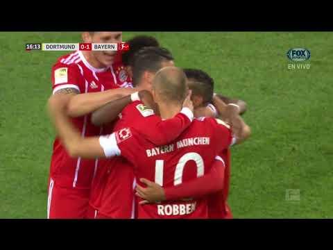 GOL: Borussia Dortmund 0 - 1 Bayern Munich