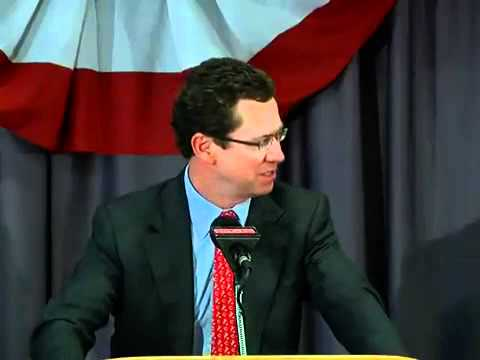 Barry Larkin speaks at GABP
