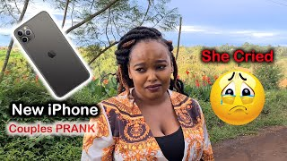 Surprised My Wife With A New iPhone 11 Pro Max, She cried | Quarantine Couple Prank
