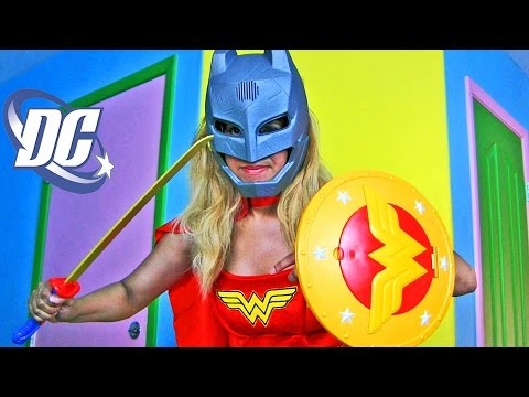 Super Wonder Bat Woman!  || Batman V Superman Dawn of Justice Toy Unboxing || Konas2002