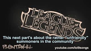 Repeat youtube video PlentaKill - Champs & Chumps LoL Cypher (Calling out Gluglug) PLK
