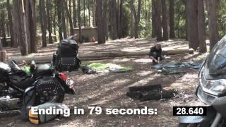 Motorcycle Camping at Rawson